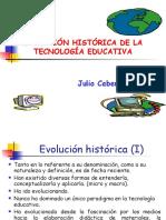 Evolución de Las Tecnologías Educativas