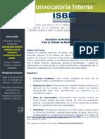 CI-01 2017 Asistente de Auditoria Interna