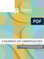 Manual de Orientacão do Cnas