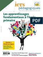 Cahiers Pedagogiques 479 Apprentissages-fondamentaux-primaire 0