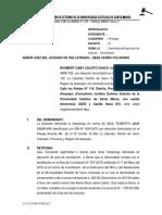Modelo de Demanda de Ejecucion de Acta de Conciliacion