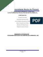 Portifólio Gestão Ambiental - 1º Semestre