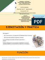EJERCITACIÓN Y PRÁCTICA.