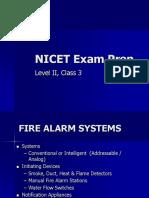 Nicet Exam Prep Presentation Level II Class 3-1