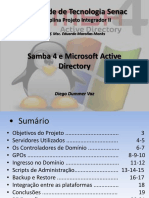 Proj. Int. II -Apresentacao Final- Samba4 e Ad