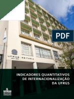 Indicadores Quantitativos de Internacionalizacao da UFRGS