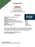 Otello - libretto