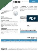 BS101 LED; Beghelli