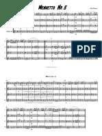 Bald Wyntin Sax Quartet Menuetto 5