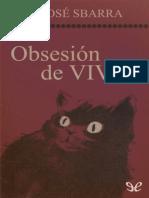 Obsesion de Vivir - Jose Sbarra