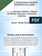 Desbalanceo Rotatorio
