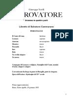 Il Trovatore - libretto