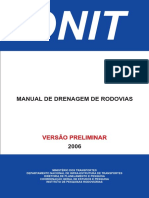 Manual de Drenagem de Rodovias DNIT