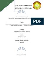 Monografia de Bachillerato Unificado