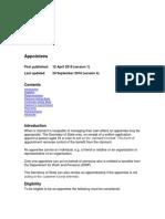 Appointees v4.0