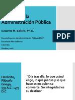 Ética en la Administración Publica