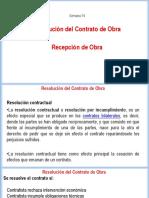 Clase 14 - Resoluc Contrato Recep Obra