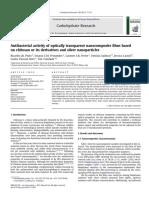 La actividad antibacteriana de las películas de nanocompuestos ópticamente transparentes basados en quitosano o sus derivados y nanopartículas de.pdf