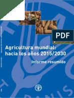 Agricultura mundial Informe resumido.pdf