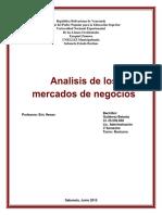 Analisis de Mercado de Negocios