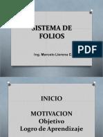2) Sistema de Folios (Prepar. Clases)