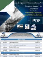 Programa General y de Conferencias DNI 2017