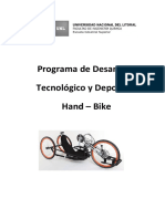Hand Bike - Carpeta