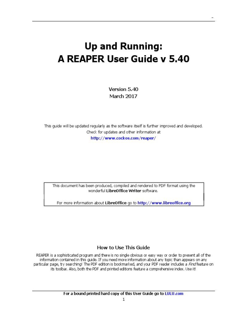 reaper user guide 540 c portable document format computer file