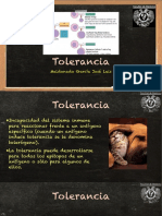 Tolerancia Inminitaria
