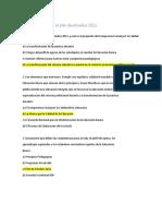 Cuestionario Sobre El Plan de Estudios 2011
