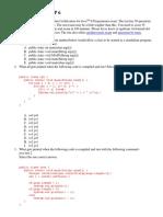 Para Certificacion Java