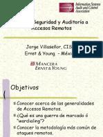 213 - Jorge Villasenor - Seguridad y Auditoria a Accesos Remotos