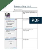 Configuracion Autocad Map 2013