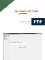Manual de Uso Del LOGNORM2