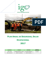 2. Plan  Anual de SSO