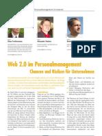 Web 2.0 im Personalmanagement