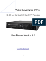 Viewtron Surveillance DVR User Manual