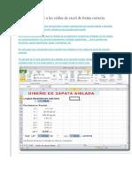 Agregar Unidades a Las Celdas de Excel de Forma Correcta