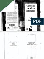 ConceptosjuridicosfundamentalesHohfeld.pdf