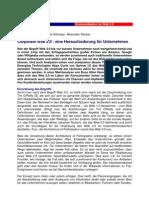 Corporate Web 2.0 - eine Herausforderung für Unternehmen