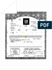 Certificate of Origin HL1