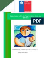 Catastro Oferta Programática Sename 2016