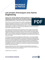 CDP Sarine-Engineering Fr