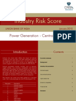 Crisil Industry Score-powgencen