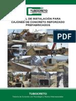 TUBOCRETO ManualDeInstalacion Cajones V3