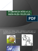 Biologia Celular Introduccion