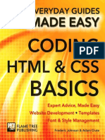 Coding HTML and CSS_ Expert Adv - Frederic Johnson
