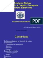 Elementos Básicos - D y P de Minas