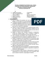 Informe 2 de Quimica