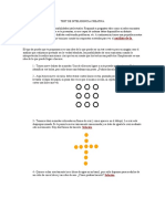 Test de Inteligencia Creativa.doc
